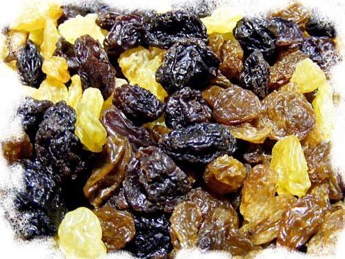 Le raisin sec est appétent mais toxique pour le chien